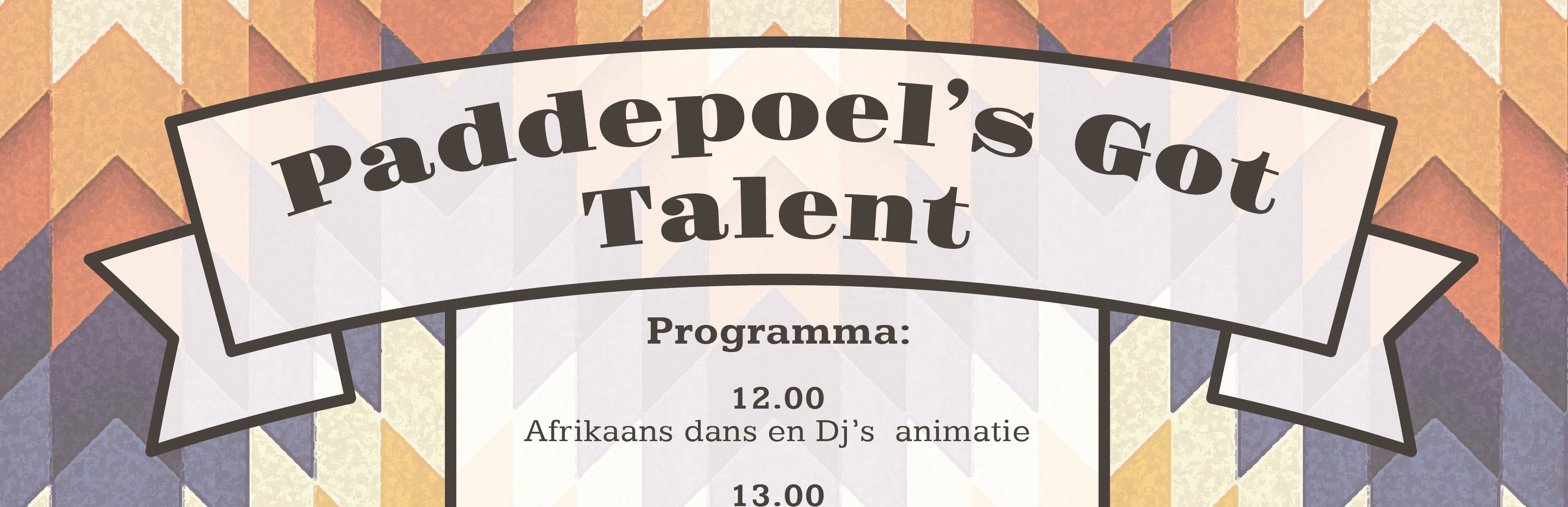 Paddepoel's got talent